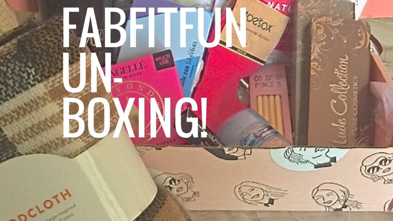 FabFitFun Fall 2016 Subscription Box Review