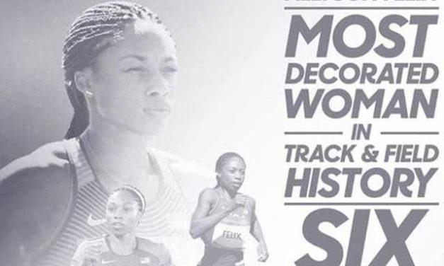 Olympics 2016 Rio – Track and Field Medalist Allyson Felix
